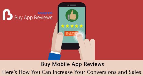 Buy Mobile App Reviews