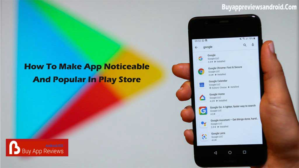 Buy App Reviews Android